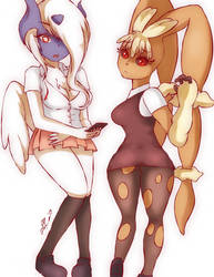 Absol and Lopunny Redux