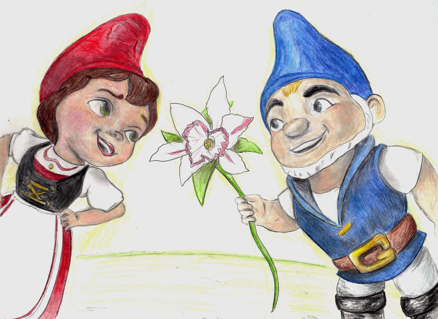 Gnomeo and Juliet by little-hi-two on DeviantArt