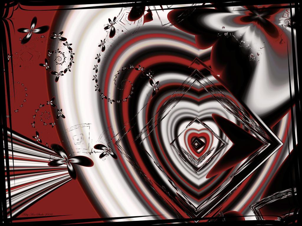Gothic Valentine By KittyAnnStudio