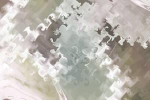 Abstract Gnarl Pastel by KittyAnnStudio