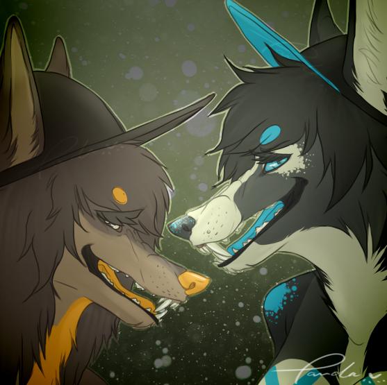 Duo. by oh-hellopanda