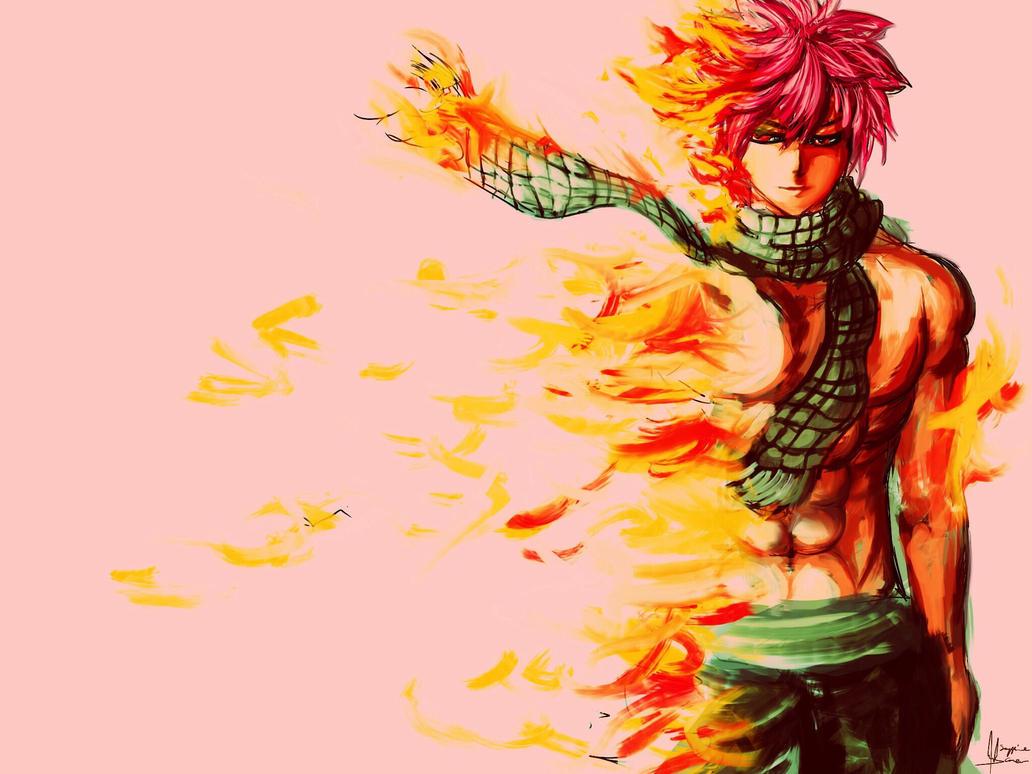 Natsu Dragneel Flame Dragon Slaying Demon By Sapphire22crown On Deviantart