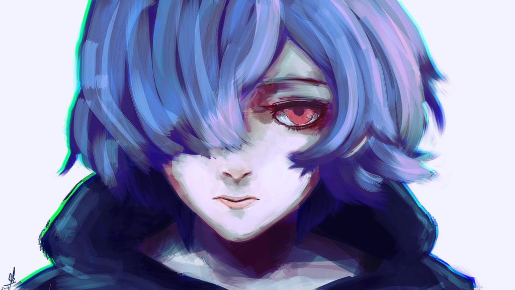 Touka Kirishima Tg:RE 69 By Sapphire22crown On DeviantArt