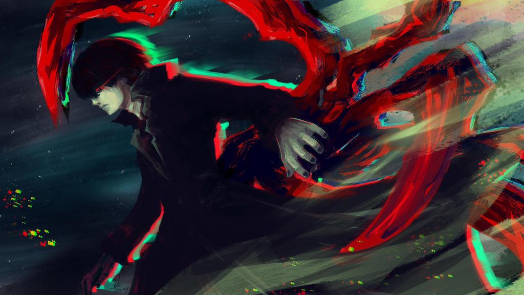 Black Reaper Kaneki Ken In Berkserk Mode By Sapphire22crown On Deviantart