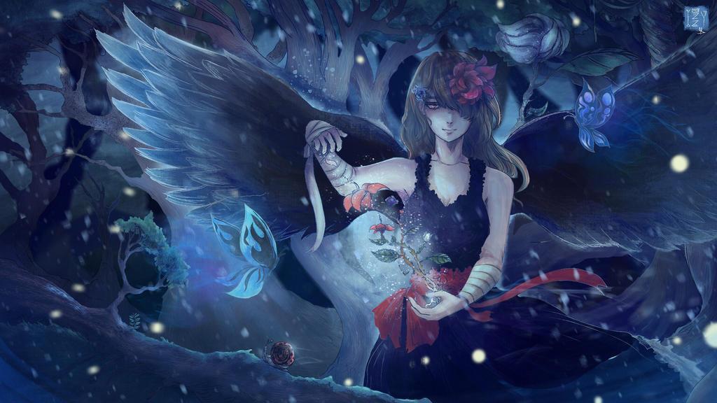 Aliferous (Redraw) by sapphire22crown