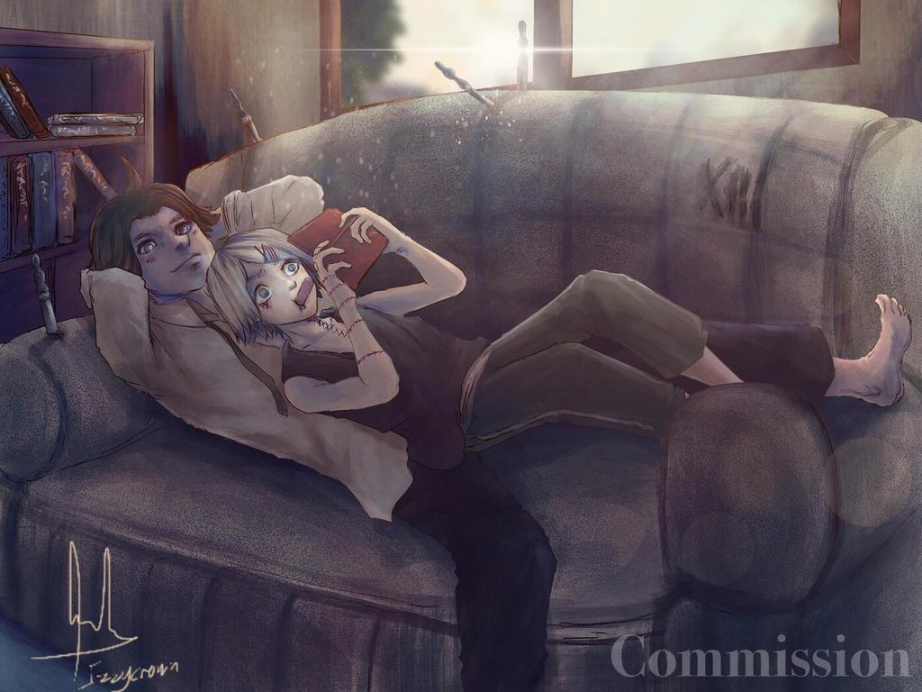 Day to Relax (Commission) - Takizawa  Suzuya by sapphire22crown