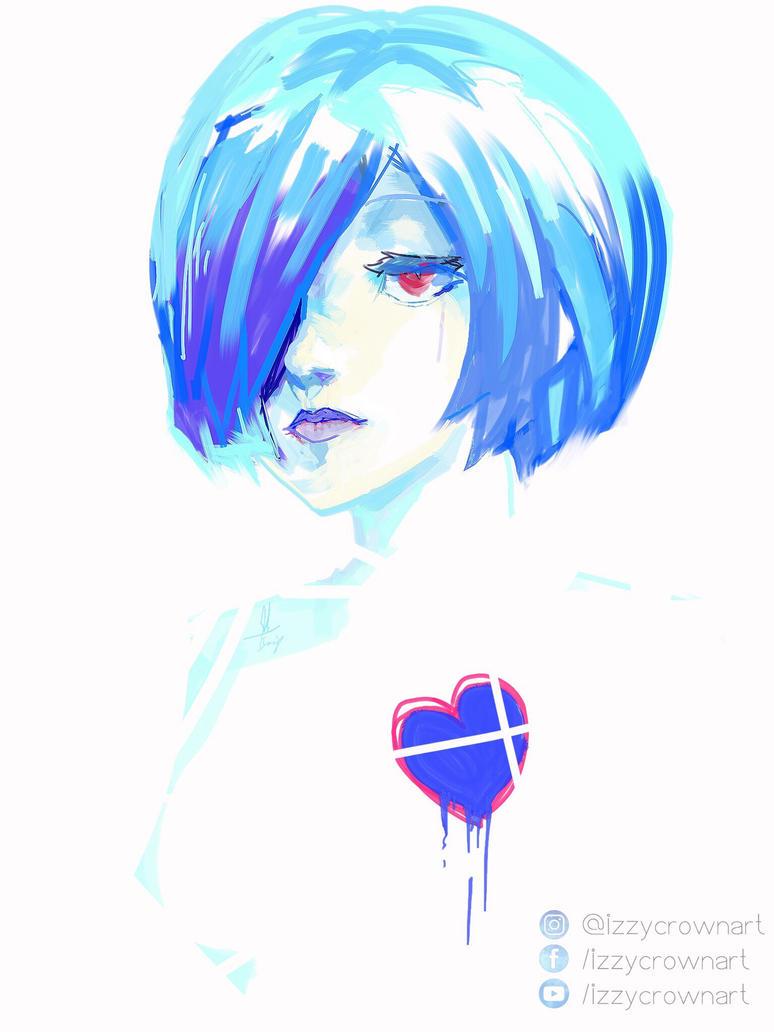 Blue Touka by sapphire22crown