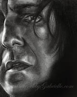 Snape by GabrielleBrickey