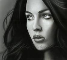 Megan Fox Drawing by GabrielleBrickey