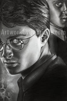 Harry and Draco Drawing