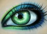 Green and Blue Eye