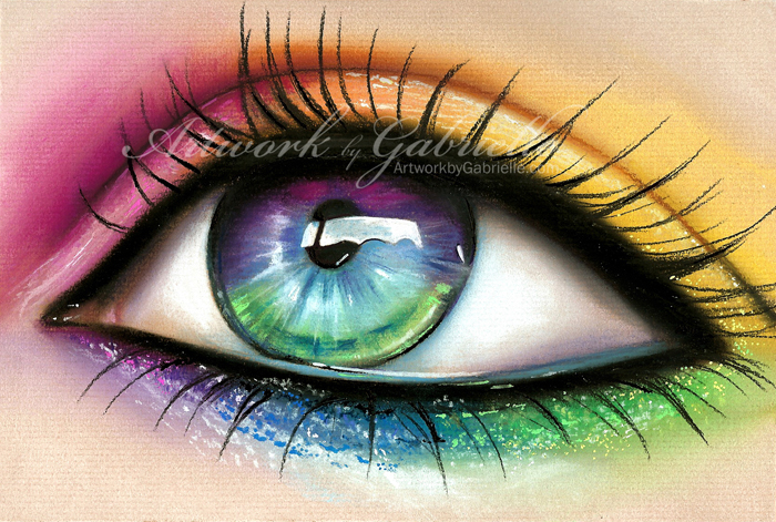 Rainbow Eye by gabbyd70 on DeviantArt