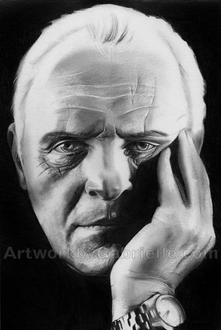Anthony Hopkins by gabbyd70
