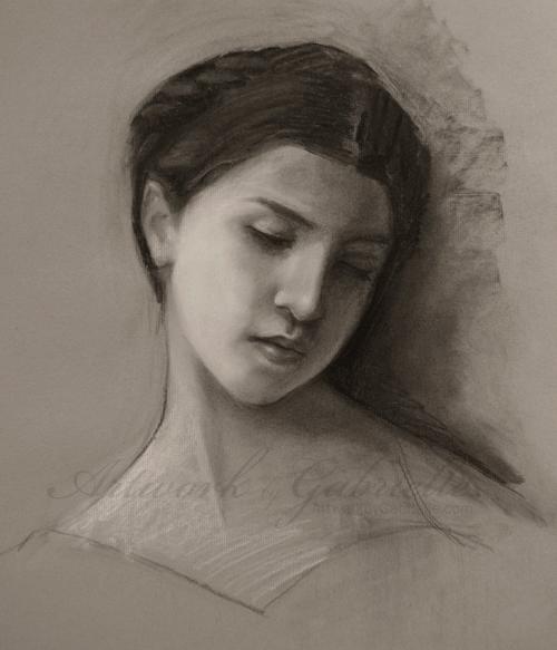 Bouguereau Study by gabbyd70