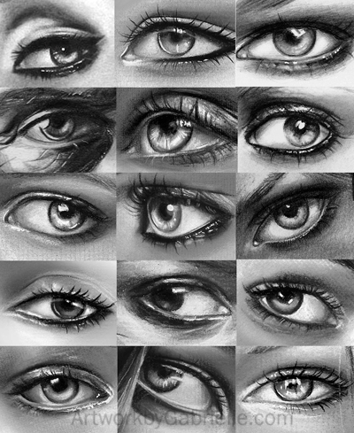 a bunch of eyes by gabbyd70
