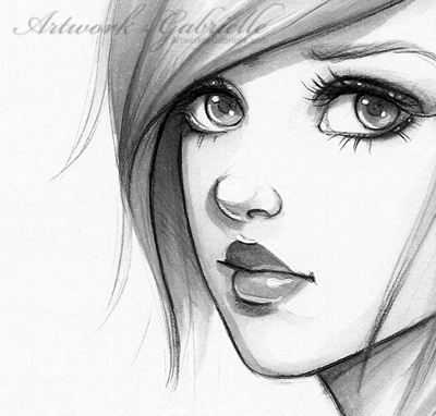 Sketchbook Drawing: by gabbyd70 on DeviantArt