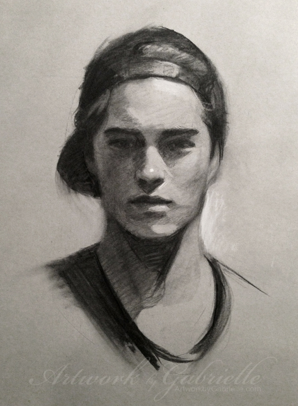 Portrait Practice by gabbyd70