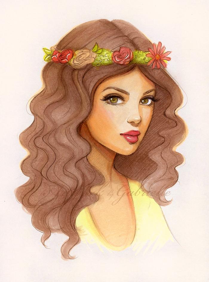 Flower Girl.. by gabbyd70