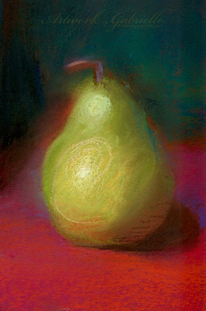 Pastel Pear by gabbyd70