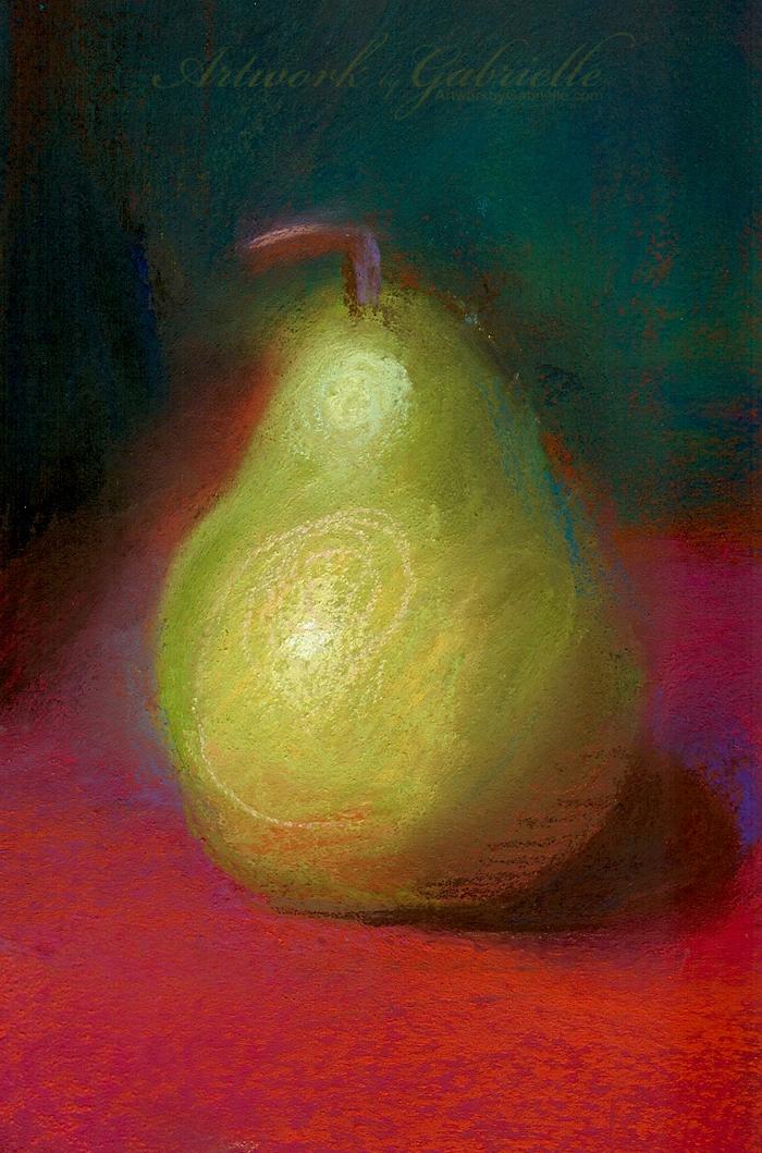 Pastel Pear by gabbyd70