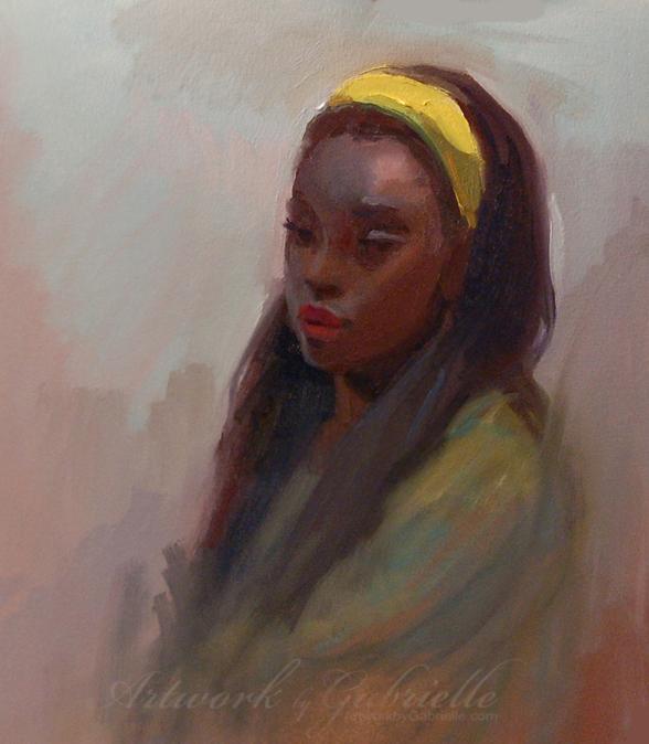Jasmine Oil Painting