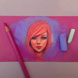 Pastel Painting by GabrielleBrickey