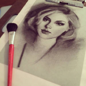 Charcoal Drawing WIP