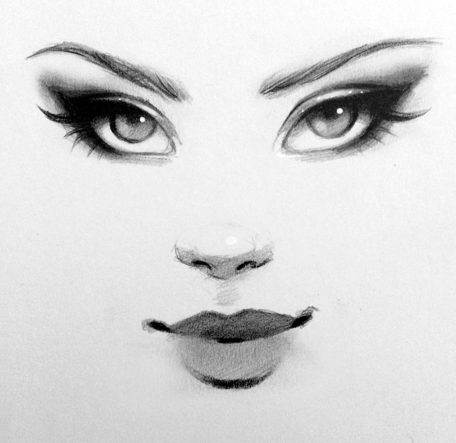 Scribble Drawing Face : Sketching by gabriellebrickey on deviantart