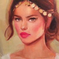 Painting WIP by GabrielleBrickey