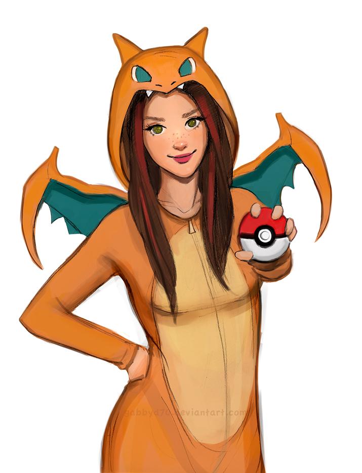 Pokemon Girl by gabbyd70