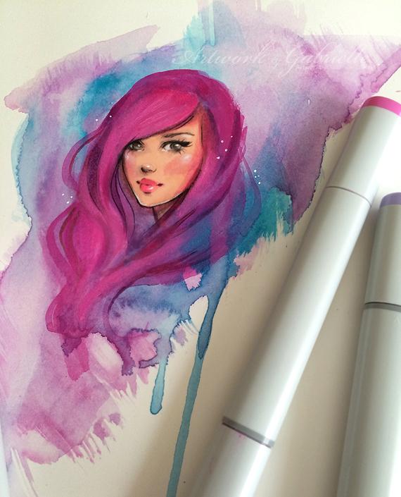 Watercolor by gabbyd70
