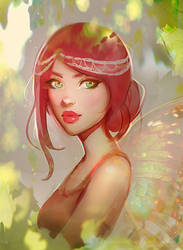 Fairy by GabrielleBrickey