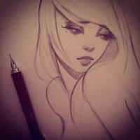 Sketchbook Drawing by GabrielleBrickey