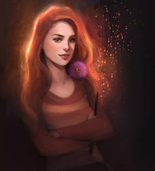 Ginny Weasley by GabrielleBrickey