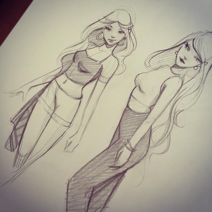Sketches by gabbyd70