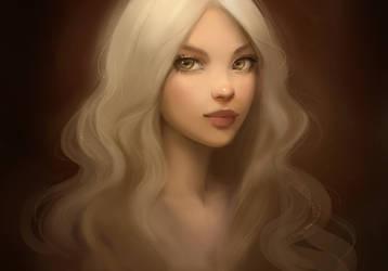 Rapunzel by GabrielleBrickey