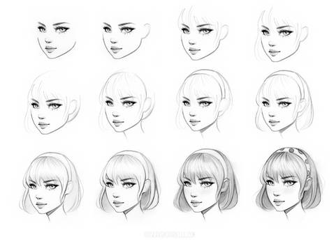 Female Character Drawing Class on Skillshare
