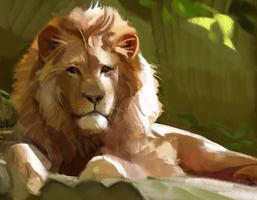 Lion by GabrielleBrickey
