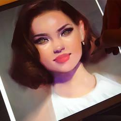 Painting Sketch by GabrielleBrickey