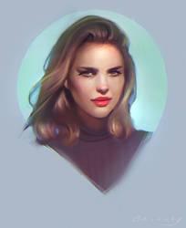 Portrait Painting by GabrielleBrickey