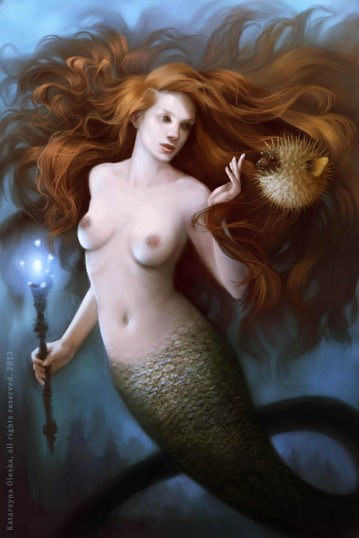 Mermaid by katea