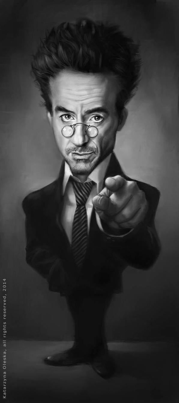 Robert Downey Jr. by katea