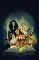 Terry Pratchett Light Fantastic by katea