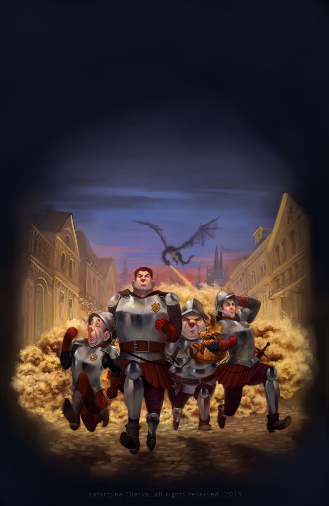 Terry Pratchett Guards Guards cover illustration by katea