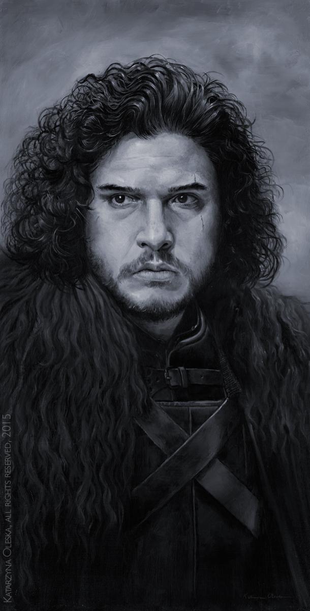 Jon Snow by katea