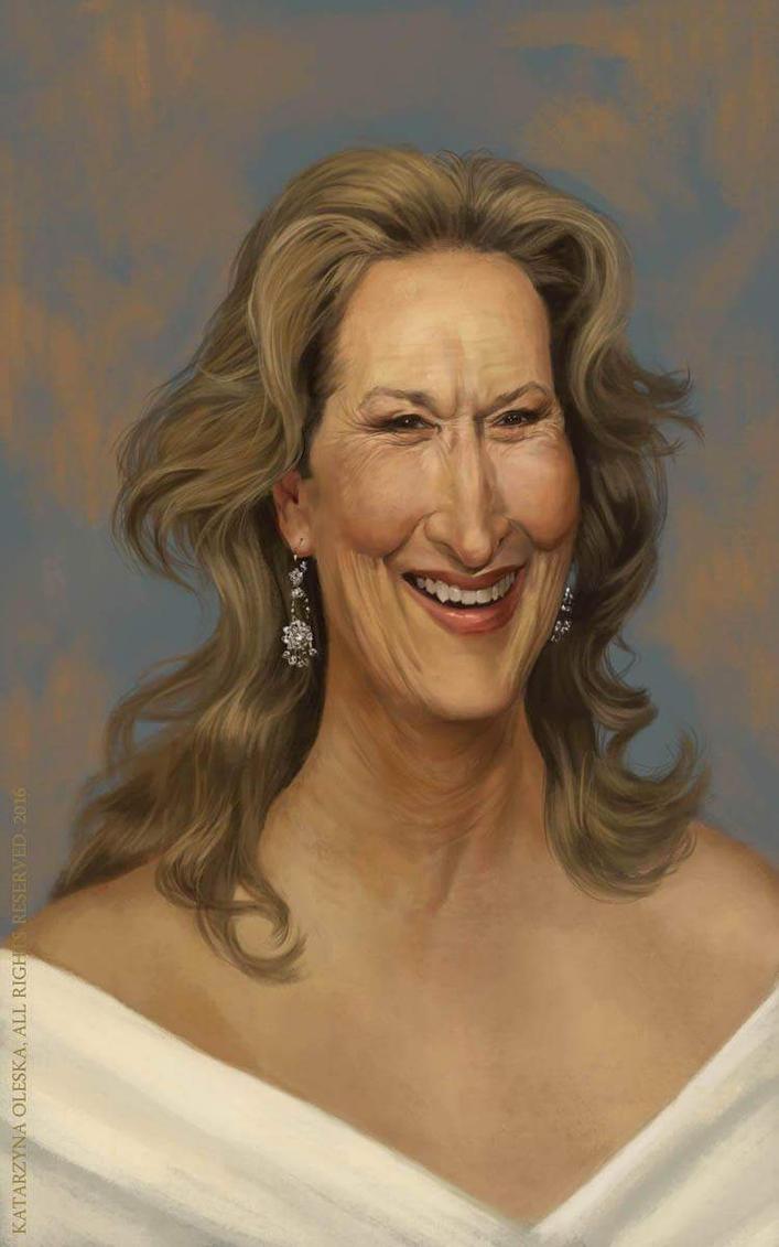 Meryl Streep by katea