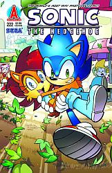 Sonic the hedgehog 222 cover by Camunon