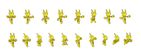 Static LP Sprite Poses by Camunon