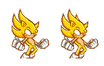 Super Sonic Pixel Art by Camunon