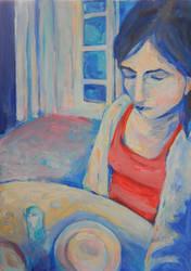 breakfast in red by Silmarilian